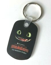 How To Train Your Dragon : The Hidden World Toothless Rubber Keychain NEW