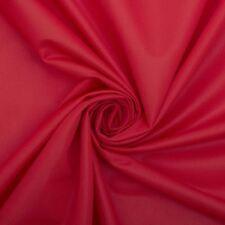 Newark satin rouge uni haute qualité tissu tapisserie projets d'artisanat léger