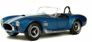 AC SHELBY COBRA 427 MK.II Blue with white stripes 1965 model 1:18 SOLIDO 1850017