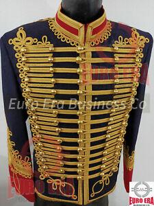 New Adam Ant Hussars Military Jacket, Napoleonic Hussars Tunic Jacket