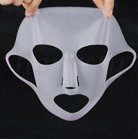 1pc Waterproof Silicone Face Moisturizing Mask For Sheet Mask Cover Skin Care