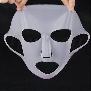 Silicone étanche visage hydratant masque pour fiche masque couverture de soins