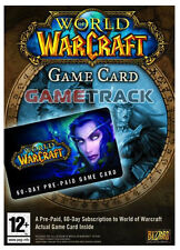 WORLD of WARCRAFT PREPAID TIME 60 TAGE GAMECARD WoW EU
