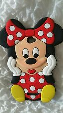 BE-SILICONE CASE S MINNIE RED for SONY XPERIA E4