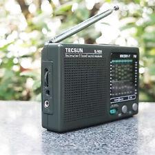 Portable TECSUN R-909 Radio FM MW(AM)&SW(Shortwave) 9 Band World Receiver
