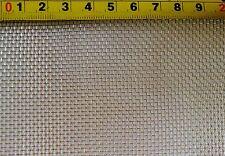 Edelstahl Drahtgewebe mit  2 mm Maschenweite, 0,5 mm Drahtstärke, 40 cm x 40 cm