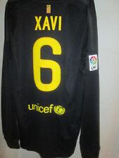 Barcelona 2011-2012 Xavi 6 Lejos Fútbol Camisa Manga Larga BNWT Tamaño Grande / Sh