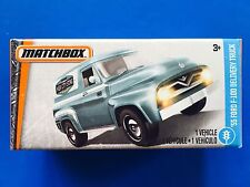 2017 Matchbox Power Grabs 1955 FORD F-100 DELIVERY TRUCK/PANEL VAN - mint box!