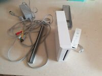 Wii Console Bundle + Accessories and Cables