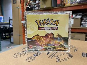 Pokemon Acrylic booster box display case Clear 4mm Thick.