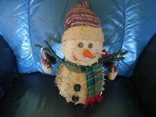Cute Cloth Snowman Doll