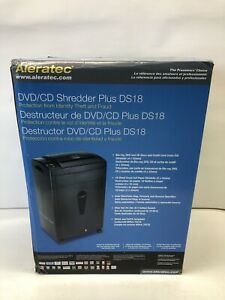 Aleratec DVD / CD Shredder Plus DS18 (Protection from Identity Theft and Fraud)