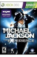 Michael Jackson: The Experience XBOX 360 Kids Kinect Game Dancing Collectible
