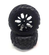 DF Modells 6132 Räderset - Reifen/Felgen schwarz 1:10 - 2 Stück