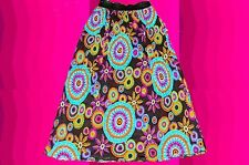 R7 all Indian Sprit Gipsy Ethnic Boho Skirt Hippie 70er years size M