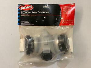 Respirator AO SAFETY 95115 Economy Twin Cartridge Medium Made In USA