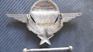 Brevet parachutiste Drago Olivier Metra avec  N°108707