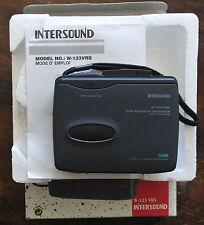 dictaphone K7 Intersound W-123VRS diktafon