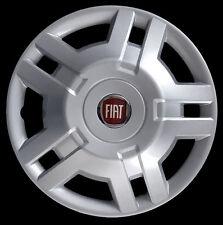 """Fiat Ducato 2009 Copricerchio coppa ruota 15"""" logo rosso cod. 1300LR"""