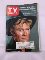 1965 TV Guide October 23 Chuck Connors Branded; Inger Stevens Bill Cosby Pitt.
