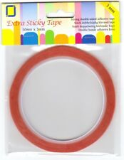 3mm x 10mtr Extra Sticky Double Sided Tape (Redline Tape)