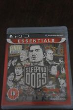 SLEEPING DOGS FOR PS3 - VERY GOOD CONDITION - COMPLETE WITH INSTRUCTIONS