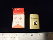 NOS 1964 GM Mark of Excellence Bowers Gold Aluminum Cigarette Lighter chevy rare