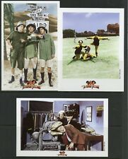 MONGOLIA 1998 'THE THREE STOOGES'  SC#2338/40 SET OF THREE IMPERF S/Ss  MINT  NH