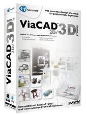 ViaCAD 2D / 3D Version 10 für WIN / MAC  PUNCH! CD/DVD deutsch EAN 4023126118905