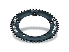 "46 TOOTH STRONGLIGHT 144BCD 1/8"" TRACK PISTA CHAINRING, ZICRAL 7075 T6"