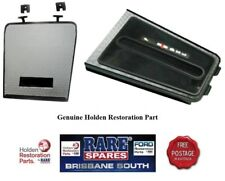 HOLDEN HQ GTS SILVER AUTOMATIC CONSOLE INSERT & FRONT COMPARTMENT LID
