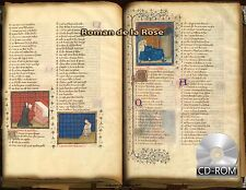 Roman de la Rose - The Romance of the Rose - Old French (842-ca. 1400)