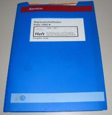 Werkstatthandbuch VW Polo III 6N Vorglühanlage + Verteilerpumpe ab Oktober 1999!