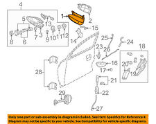 Pontiac GM OEM 04-06 GTO-Outside Exterior Door Handle Left 92085572