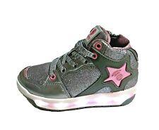 scarpe da bambina per bimba CON LUCI LUMINOSE tikimo sneakers invernale sportive