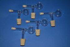 5-er Set Schnapsspender, Ausgießer Portionierer 2CL aus Glas