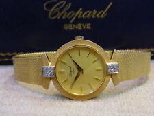 Mechanische Armbanduhren (Handaufzug) aus Gelbgold für Damen