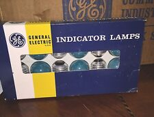 General Electric GE 71/2s/CG Green Indicator Lamp Sign 7.5 71/2 Watts 12 Pack