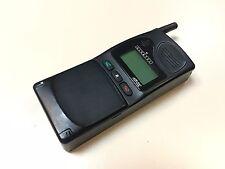 Vintage 1994 Mobile GSM Brick Phone Alcatel HB-200 - Looks great! w/Original Bag
