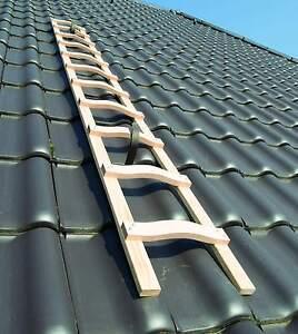 Dachleiter Holz Dachdecker auflegeleiter 4,10m