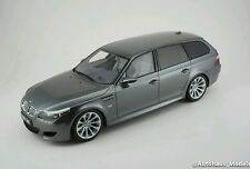 Otto Mobile 2007 BMW E61 M5 Touring Grey Color in 1/18 Scale LE of 3000 New!