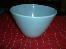 VINTAGE BLUE FIRE KING MIXING BOWL very good condition!
