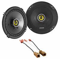 "Kicker 46CSC Rear 6.5"" Speaker Replacement Kit For 2001-2002 Nissan Pathfinder"