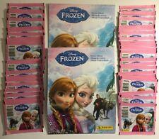 Panini Disney Frozen Sticker Album W/10 Stickers ( x 2 ) + 50 Packs Of Stickers