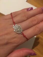 Lucky Kabbalah Boho Religion Bracelet Hot New Red String Hamsa Hand Evil Eye