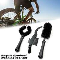 Multi Function Bicycle Cleaning Kit Tire Chain Cleaner Brush Set Bike F3L6