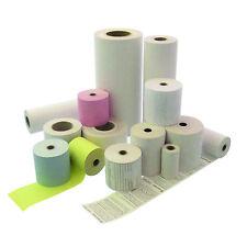 100 Receipt Rolls thermorollen 57/25 M/12 IW White waagen-bonrollen for Testut