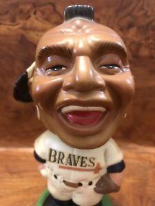 1962 Vintage Milwaukee BRAVES Indian Bobblehead Atlanta Aaron Matthews Baseball