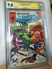 The Amazing Spider-Man #312 CGC 9.8 SS Stan Lee & Todd McFarlane - Green Goblin