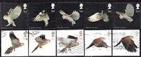 2003 Sg 2327/36 Birds of Prey Used Set of 10